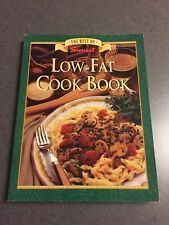The Best of Sunset Low-Fat Recipe Cookbook 1994 Paperback