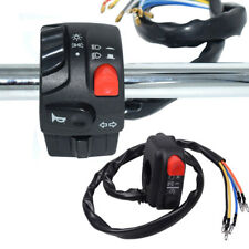 """2pcs Motorcycle Switch Set Ignition Engine Stop Lamp Horn Control Universal 7/8"""""""