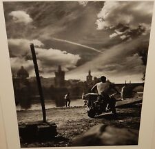 "JAN SAUDEK ""HEY JOE"" HUGE BLACK AND WHITE POSTER"