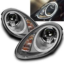 FARI FANALI ANTERIORI con LED Ottica luci diurne Porsche Boxster/Cayman (987).
