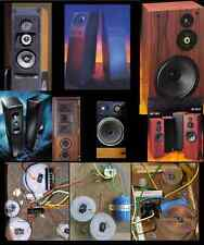 Acoustic Research AR 1, 3, 5, 7, 9 Speakers crossover upgrade repair service