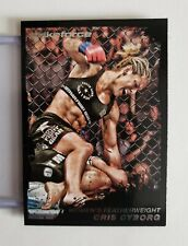 2011 UFC Moment of Truth -- CRIS CYBORG RC -- Black version #d 46/88 rookie!!