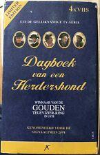 DAGBOEK VAN EEN HERDERHOND - 1 T/M 4 VHS BOX (NEW) - 432 MIN