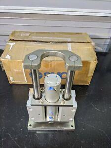 SMC US17620 PNEUMATIC AIR CYLINDER SPECIAL / 145 PSI 1.00 MPa MAX PRESSURE