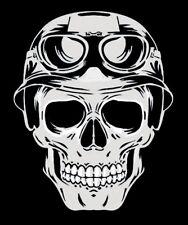 high detail airbrush stencil  skull helmet   FREE UK POSTAGE
