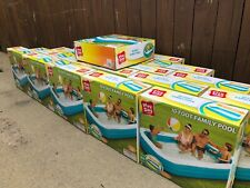 Play Day 10ft FT Foot Rectangular Family Inflatable Swimming Pool *NEW IN HAND*