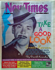 ERNIE KOVACS - NEW TIMES / LOS ANGELES NEWSPAPER - COVER STORY - MARCH 13, 1997
