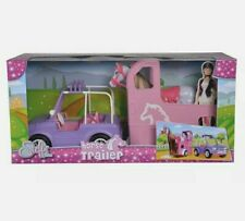 Simba Steffi Love Horse Trailer Jeep and Horse large gift set