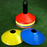 Football Training Cones Marker Discs Soccer Sport Exercise Marking Equip Durable