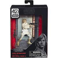 "Star Wars Black Series Titanium Series 3.75"" Die-Cast Han Solo Figure NEW!"