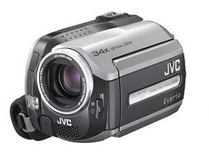 JVC GZ-MG132EK 30GB Hard Disk Camcorder (092G1346) 37 Hours Recording 34X Zoom!