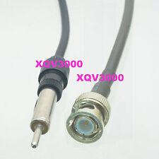 """BNC male to Motorola AM/FM radio car antenna connector plug RG58 cable 30cm/12"""""""