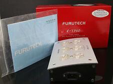 Genuine FURUTECH e-TP60 AC Power Distributor HIFI gold plated us socket DHL