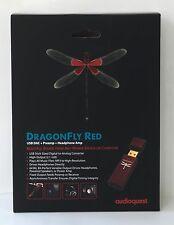 NEW AudioQuest DragonFly Red 2.1V USB Digital Audio Converter - DRAGONFLYRED