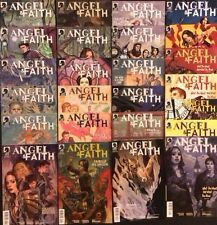 Angel & Faith #1-25 Comic Books Complete Series Dark Horse 2011 Btvs Joss Whedon