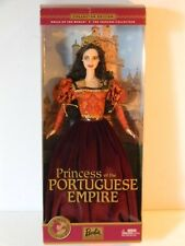 2002 DOLLS OF THE WORLD PRINCESS OF THE PORTUGUESE EMPIRE BARBIE DOLL
