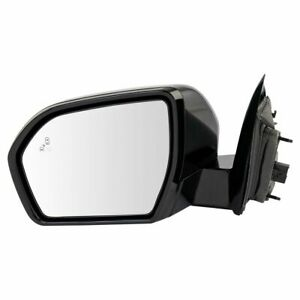 Mirror LH Side Power Fold Heated Blind Spot Checkered Finish for Expedition