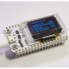 ESP32 Chip WiFi 0.96 in (ca. 2.44 cm) OLED Bluetooth KIT WI-FI CP2102 32 M Modulo Per Arduino