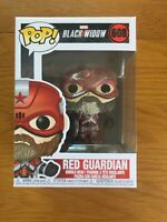 Red Guardian - Marvel Black Widow Funko Pop Vinyl #608 *New with FREE Protector*