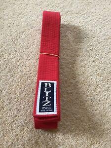 Blitz Karate/Marital Arts Red Belt