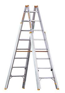 Layher Topic Aluminium Treppenstehleiter Treppenhausleiter 1061 Treppenleiter