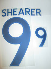 Shearer no 9 England Home Football Shirt Name Set Adult Sporting ID