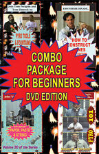 4 dvd combo set beginner fireworks maker pyro 300 min.