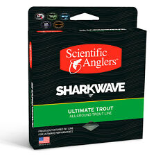 SCIENTIFIC ANGLERS SHARKWAVE ULTIMATE TROUT WF-3-F #3 WEIGHT FWD FLY LINE BRIGHT