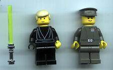STAR WARS Jedi Luke Skywalker w/ Chrome-Handled Lightsaber & Imperial Guard LEGO