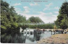 Builth Wells-Suspension Bridge-1906 Used P/C (Pub:L.P. & F.A.P.) - VGC !