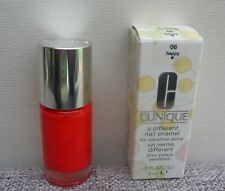 CLINIQUE A Different Nail Enamel Nail Polish, #06 Happy, 9ml, Brand New in Box