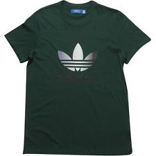 Adidas Originals Trefoil T-Shirt Dark Green Men's Large BNWT FREE SHIPPING