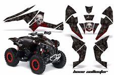 AMR Racing CanAm Renegade500/800/1000 Graphic Kit Wrap Quad Decal ATV All BONE K