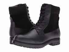Men's Calvin Klein Gable Boot Black Leather SZ 12 MSRP 165$