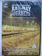 World's Greatest Railway Journeys: Denmark & Sweden (DVD, 2005) NEW SEALED PAL