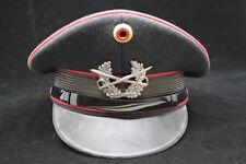 West German Panzer Peak Cap Hat