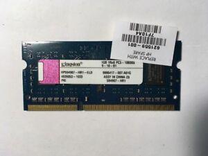 Kingston HP594907-HR1-ELD 1GB 1Rx8 PC3 -10600S 4939053-1033 PKI 9995417-007.A01G