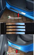 Set 4 Battitacco Renault Captur satinati protezione soglia entrata battitacchi.-