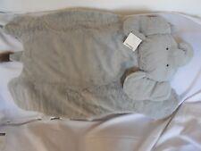 Pottery Barn Baby Gray Elephant Plush Play Mat Nwt Never Monogrammed