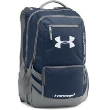 Under Armour Hustle Backpack II Schule Laptop Sport Rucksack navy 1263964-410