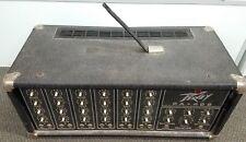 AS IS Peavey PA-400 Mixer Head Amplifier 6CH 200 Watt Power Module Made in USA