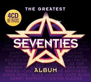 Greatest Seventies Album Various Artists 4 CD Digipak NEW