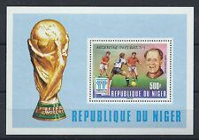 """Niger Bloc N° 22** (MNH) 1978 - """"Argentina 78"""" surchargé"""