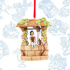 2017 Disney Store Snow White Wishing Well Sketchbook Ornament Limited Storybook