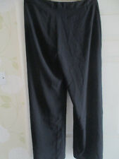 Tamaño 16 Negro Pantalones Acampanados De Atmosphere