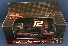 Mobil 1 1:64 Stock Car #12 Jeremy Mayfield 25th Anniversary Ltd  Edition