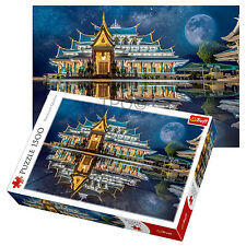 Trefl 1500 Piece Adult Wat Pa Phu Kon Temple Thailand Large Jigsaw Puzzle NEW