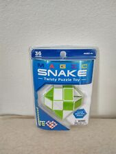 Magic Snake Twisty Puzzle Toy  Create Endless Shapes FREE SHIPPING New Green