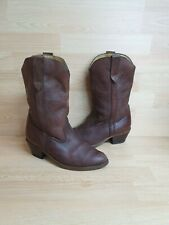 Vintage Dolcis Cowboy Boots Size 9 / 42 - Brown