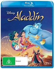 Disney ALADDIN [Blu-ray] Classic Disney Movie + Never Seen SPECIAL FEATURES
